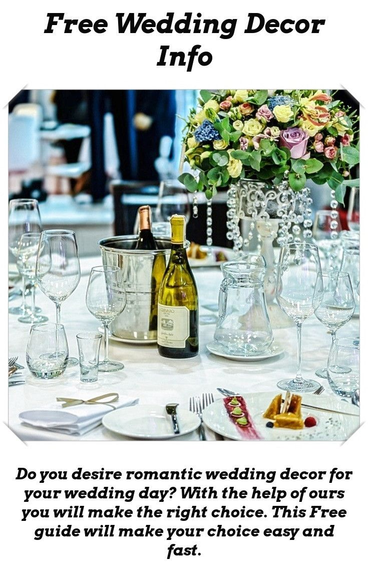 Diy wedding table decorations ideas  Decor For Wedding  Wedding Table Decoration Ideas  Pinterest