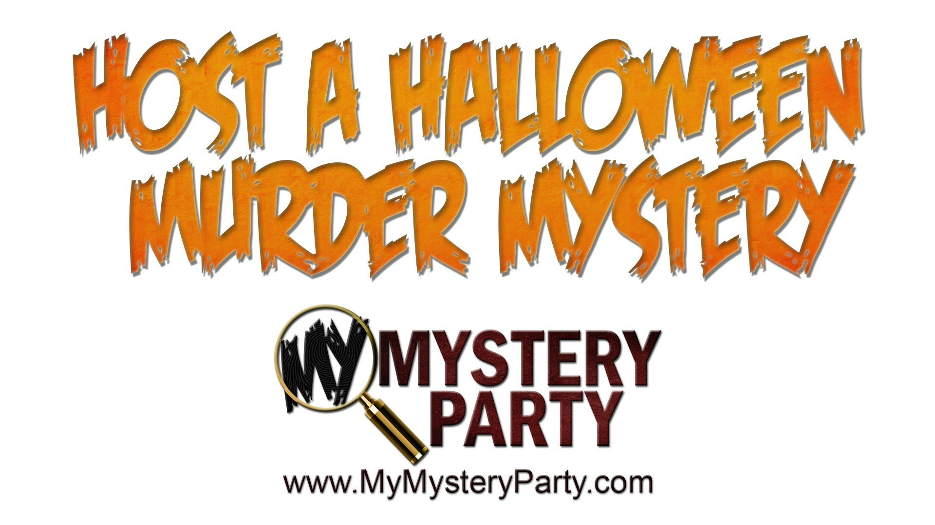 host a murder mystery party for halloween with my mystery party at