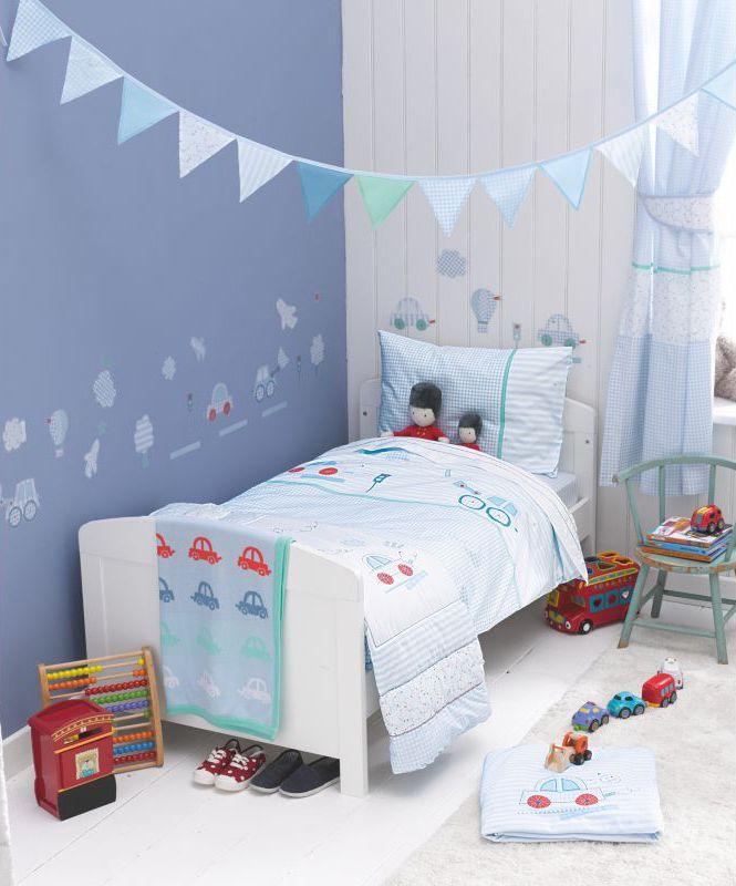 Nursery Bedding Mothercare Little Beep Collection Bright Cheerful Coordinating