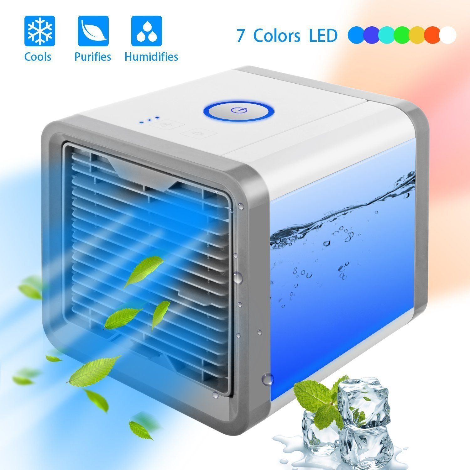 Best Small Portable Air Conditioner Cooler Purifier Arctic Air Ac Portable Air Cooler Air Cooler Air Conditioner