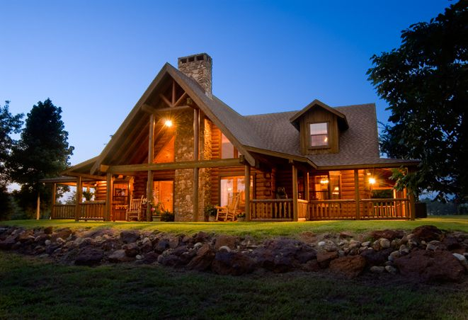 Amazing satterwhite log homes architecture with elegant for Log cabin home builders in texas