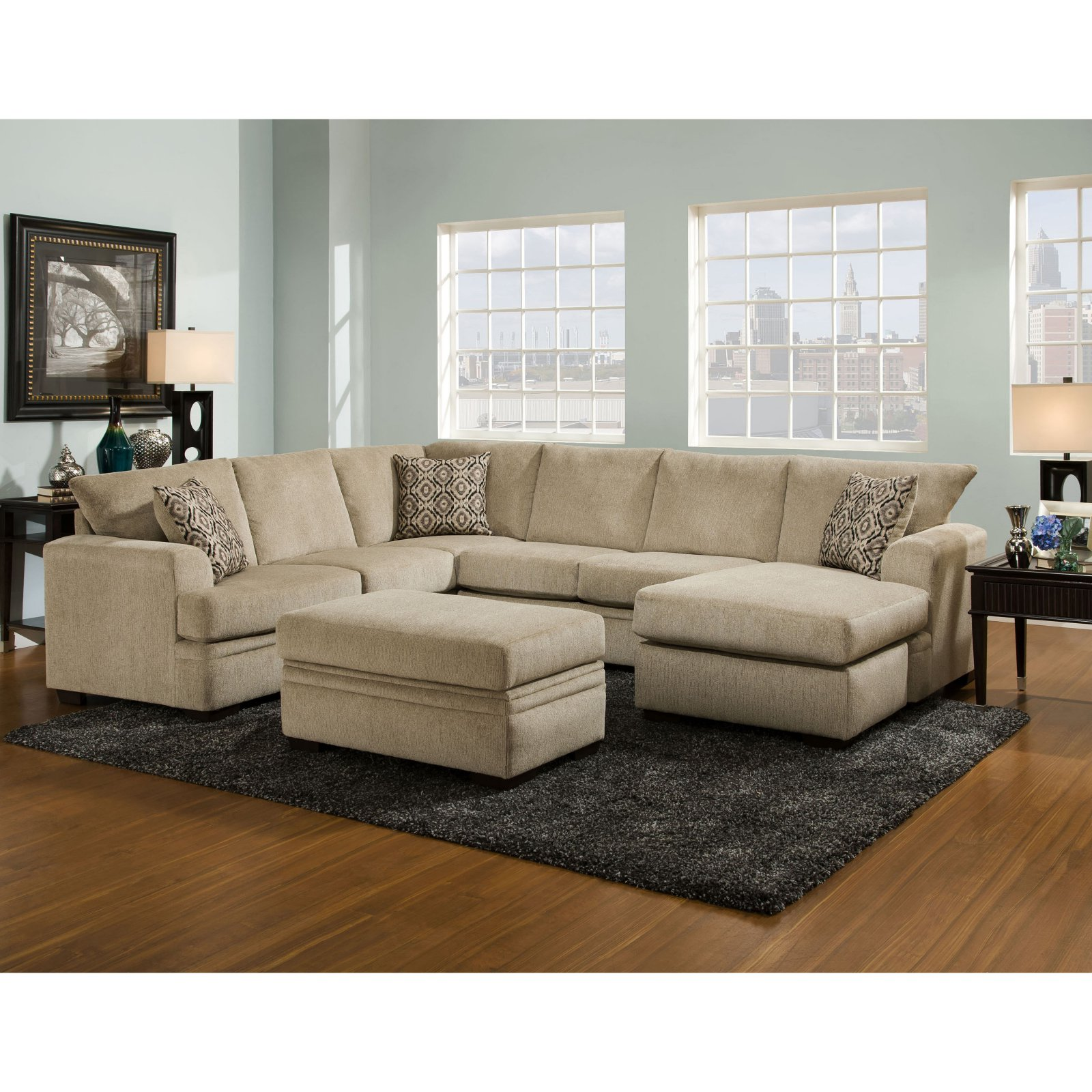 Chelsea Home Furniture Atherton 2 Piece Sectional Furniture