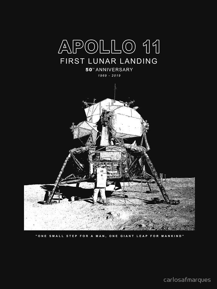 NASA Moon landing Apollo program Armstrong VINTAGE LOOK T-Shirt SIZES S-5X
