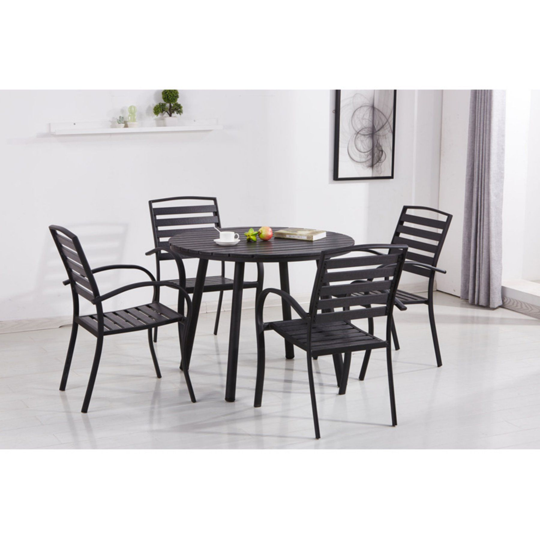 Counter Height Patio Dining Set