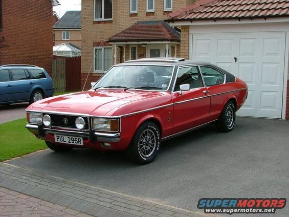 Ford Granada Coupe With Images Ford Granada Ford Classic Cars