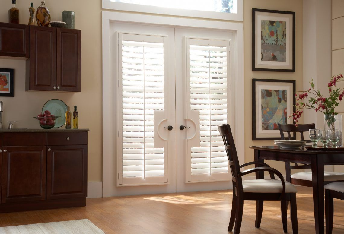 French door blinds s a type of door covering usually installed on