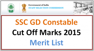 Ssc Gd Result 2016 2017 Www Ssc Nic In Gd Constable Final Result