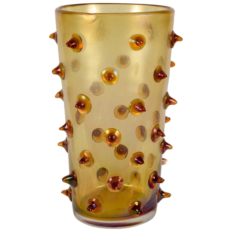 Vase in Murano Glass Signed Pino Signoretto | Murano glass and Glass art
