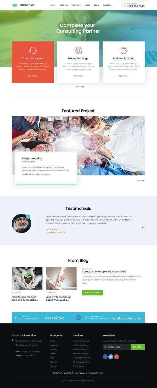 Consult aid is a professional psd template for webdesign consult aid is a professional psd template for webdesign consultancy or business finance website download now accmission Gallery
