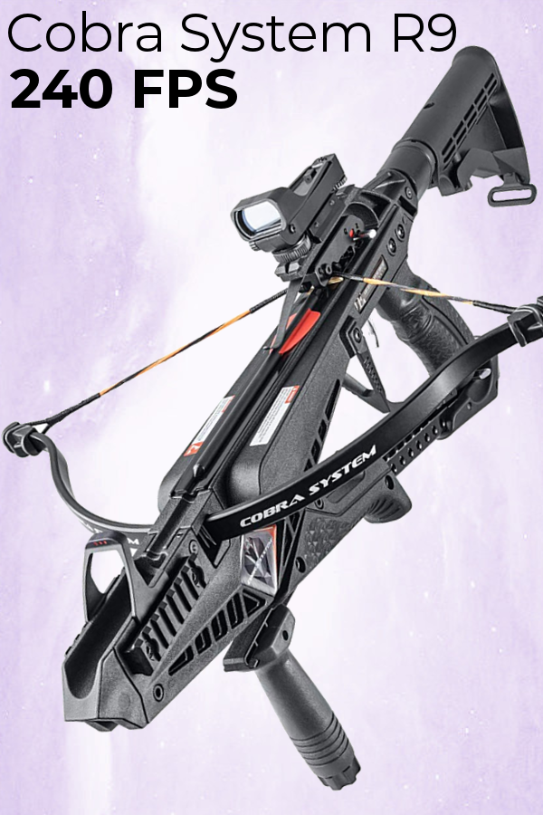 Pistol Crossbow EK Archery Cobra System R9 Deluxe  Check out