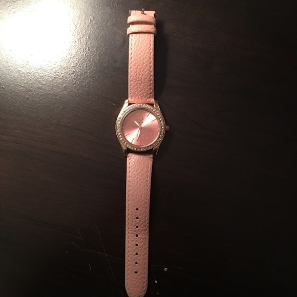 Rose Gold watch rose gold, very good condition (only worn once), from Charlotte Russe Charlotte Russe Other