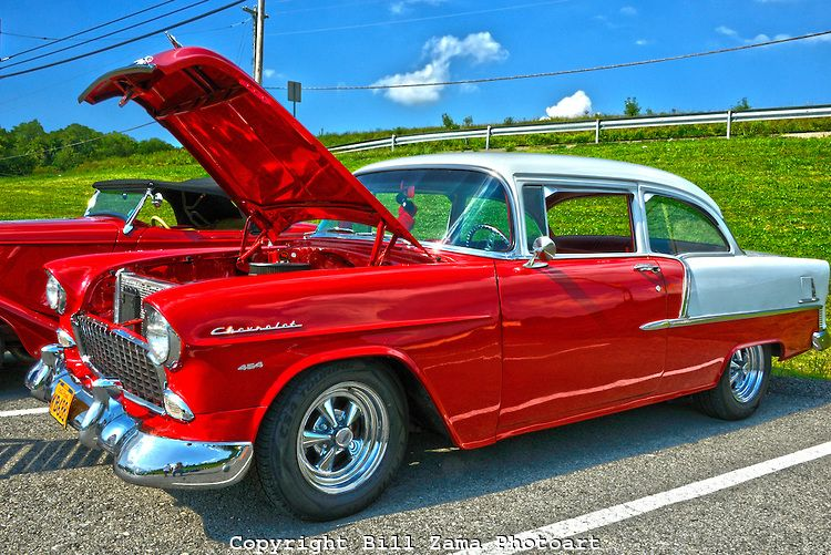 Sharp Chevy Belair At Custom Car Show At Mineral Beach In - Pittsburgh custom car show