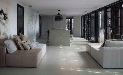 Marmoleum piet boon woonkamer #interieur #vloer #marmoleum
