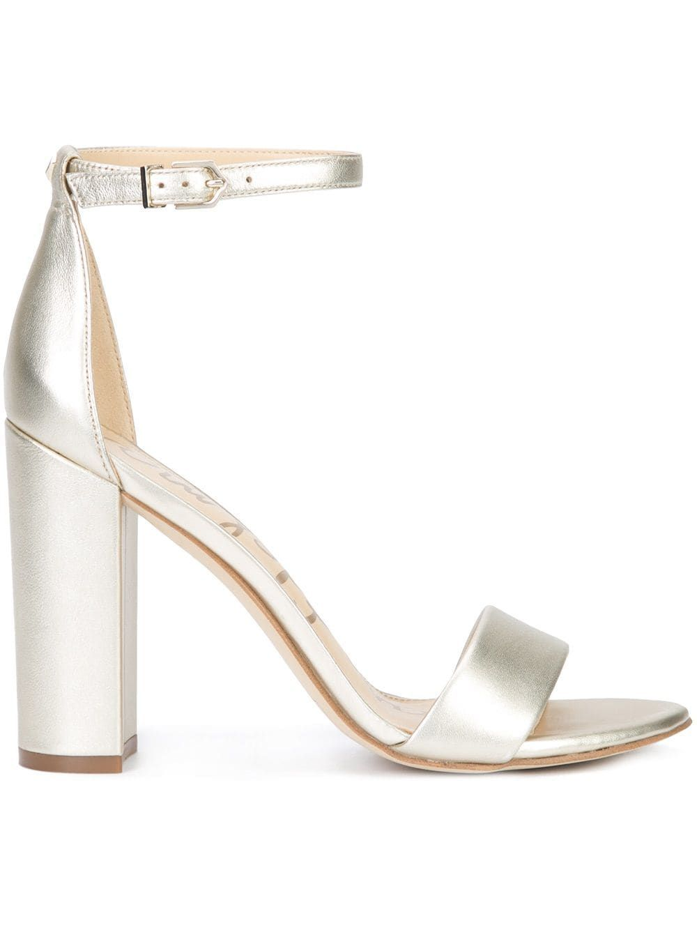 9621a8604ec Sam Edelman Yaro sandals - Metallic in 2019 | Products | Sandals