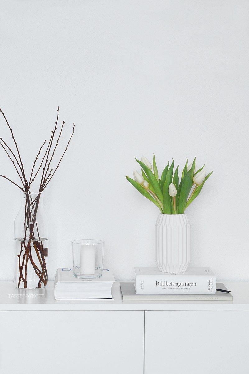 Tipps Fur Deine Fruhlingsdeko Skandinavisch Modern Fruhlingsdekoration Fruhlings Dekoration