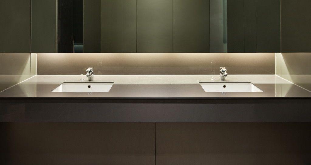 Bathroom Countertop Options: Double Sink Vanity Tops   Pros U0026 Cons