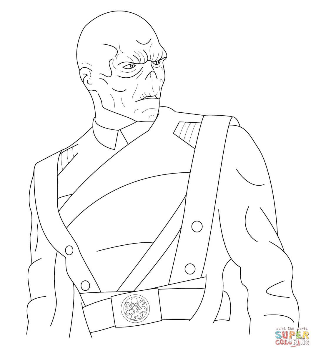 Red Skull Marvel Coloring Pages Red Skull Marvel Skull Coloring Pages Marvel Coloring