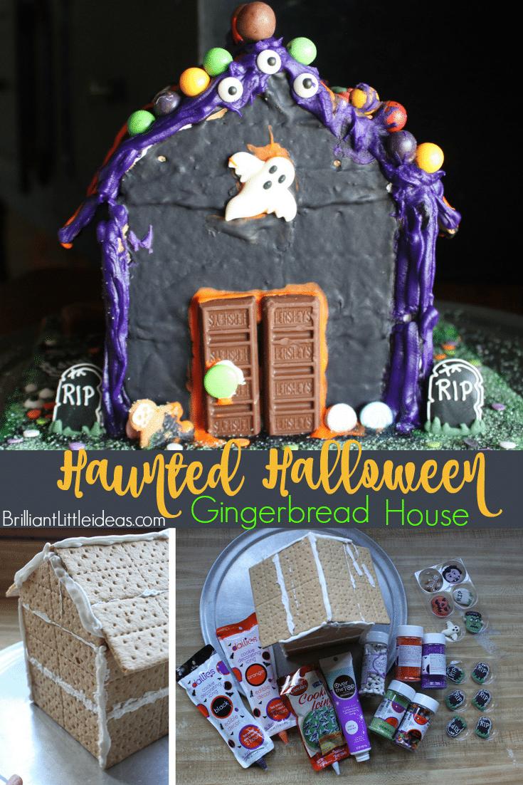Haunted Halloween Gingerbread House | Brilliant Little Ideas