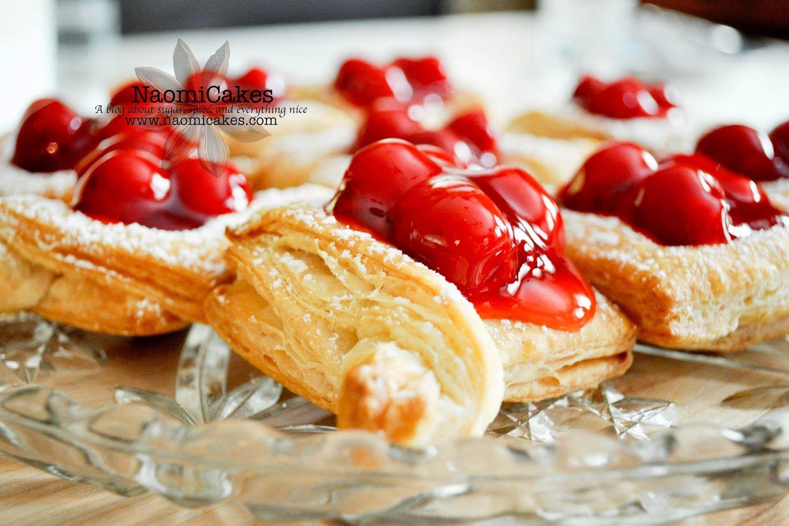 NaomiCakes: Cherry Pastries
