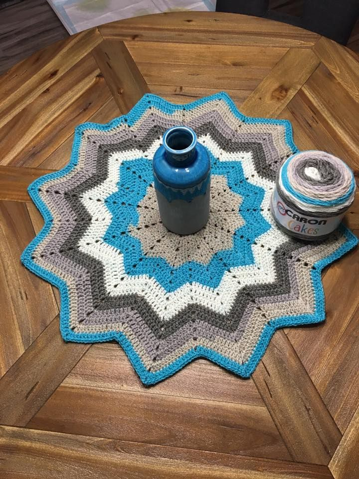 Another Caron Cake pattern | I Love Crochet! | Pinterest | Decken ...