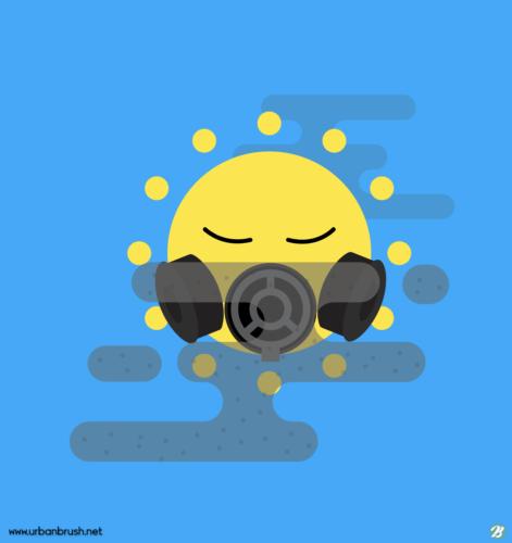 미세먼지 아이콘 - 웹디자이너에게 인기있는 기상, 날씨 아이콘 ...