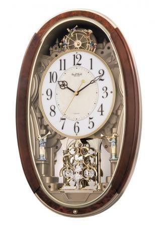 Rhythm Musical Wall Clock Gtm2266 Pendulum Wall Clock Wall Clock Clock