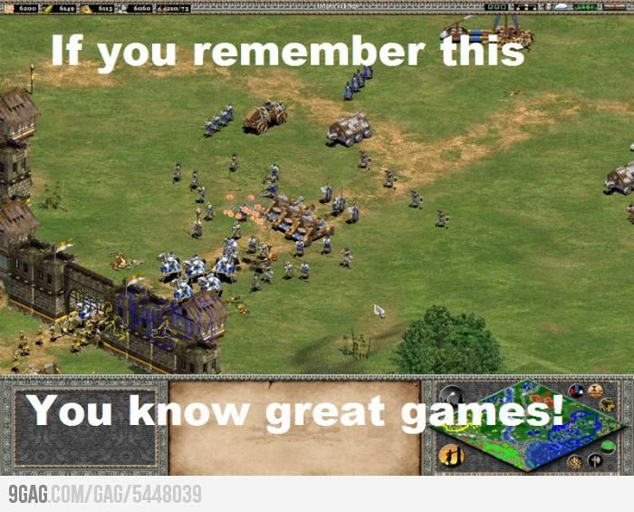 Greatest Game In The World Age Of Empires Video Games Funny Childhood Games