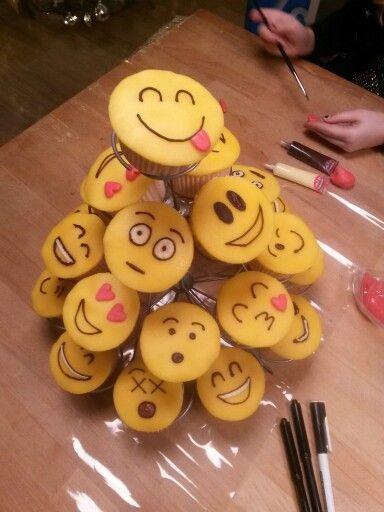 cupcake traktatie school