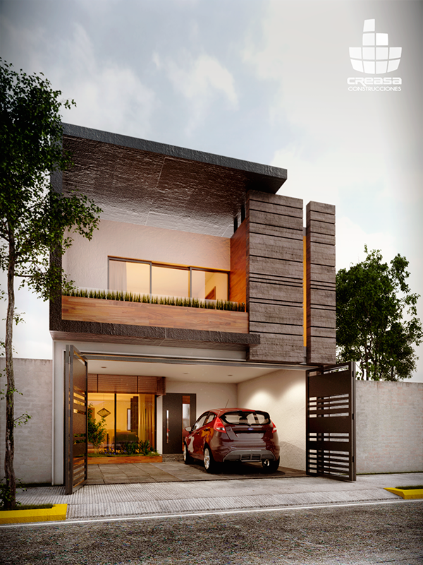 ampliaci n de casa habitaci n en colima colima ideas On casa habitacion minimalista