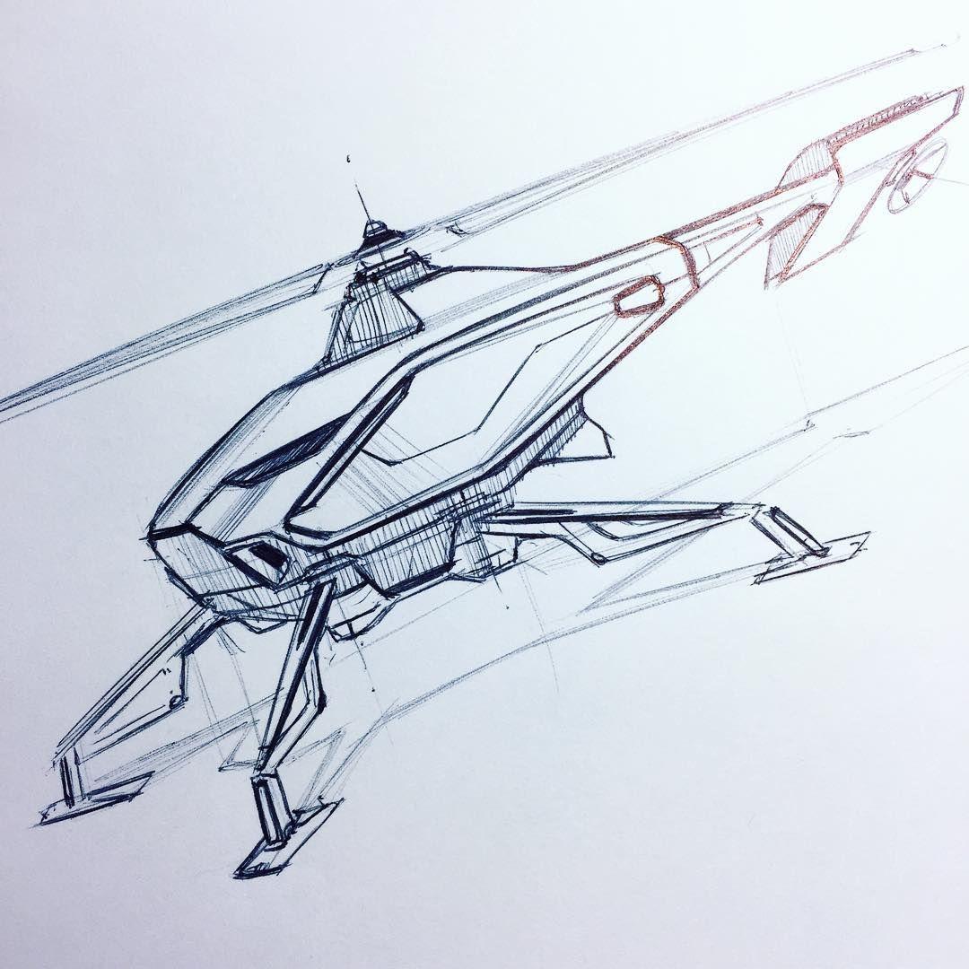 Flying machine inktober inktober2016 sketch pen