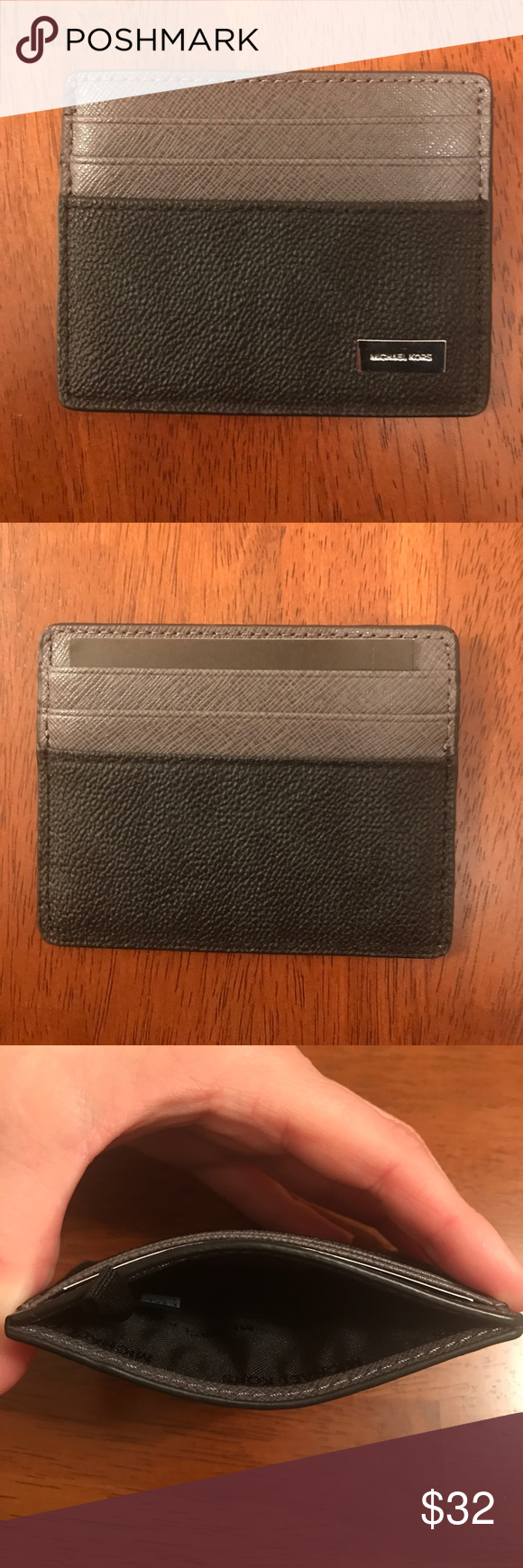 fb92845dd8433 NWT  Michael Kors Men s Jet Set Card Holder This is a brand new ...