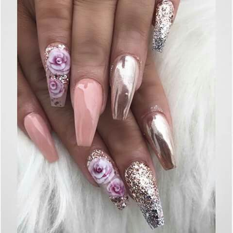 Pin By India Wylie On Nails Pinterest Acrylic Nail Art