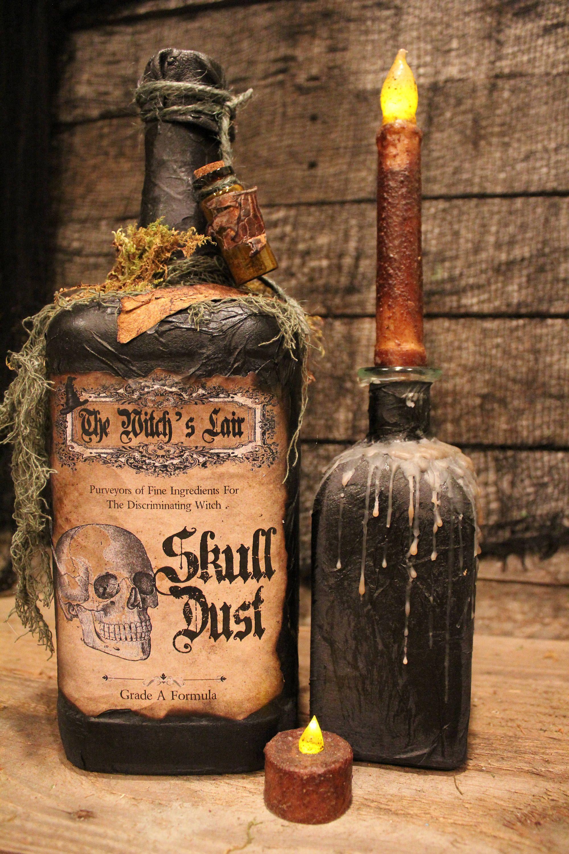 9 Festive Crafts For Halloween Halloween Wine Halloween Wine Bottles Halloween Diy