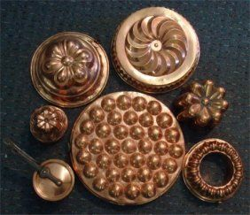 how to clean copper jello molds