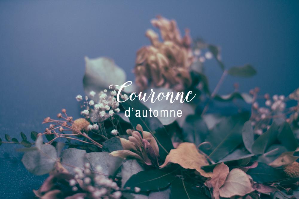 Couronne d'automne pour décorer votre intérieur