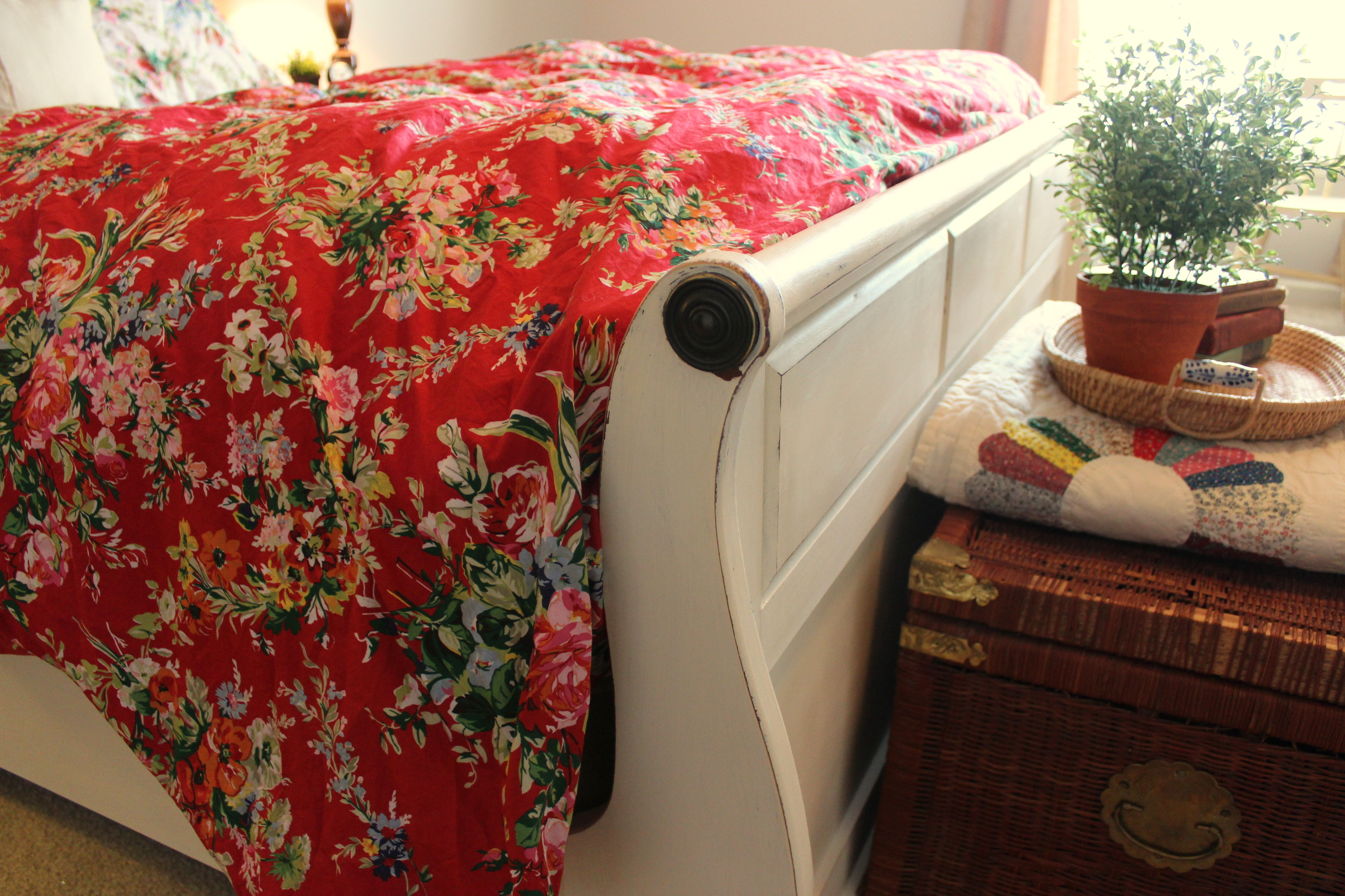 Weekend Makeover Refresh Tired Bedroom Furniture Sleigh Beds Everything But The House