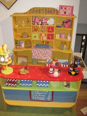 Our Sweet Shop I Made The Kinders Fun Play Food Kid Spaces