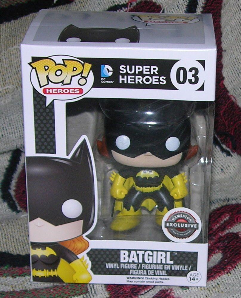 Batgirl Funko Pop Gamestop Exclusive Black Friday Dc
