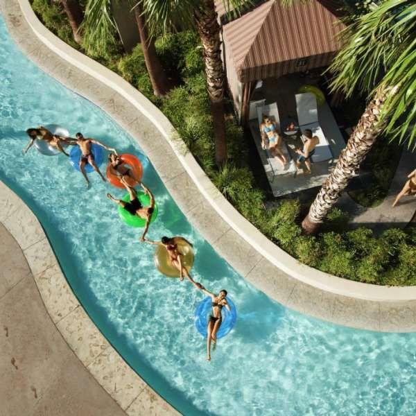 Mandalay Bay - This Expansive Resort Backyard Checks Just -1379