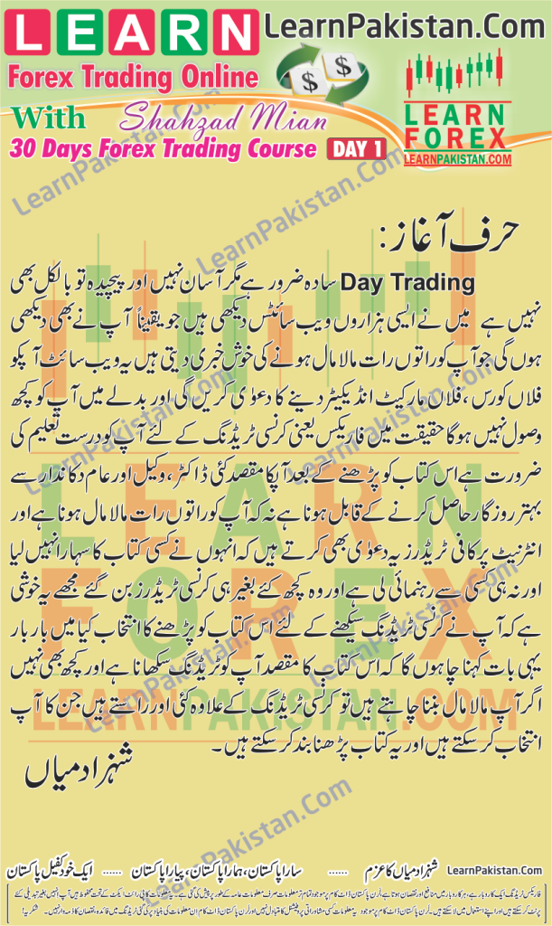 Best Forex Trading Book In Urdu By Saeed Khan Best Urdu Books