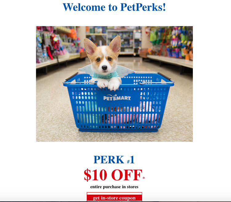10 off a Purchase at Petsmart Petsmart, Store coupons