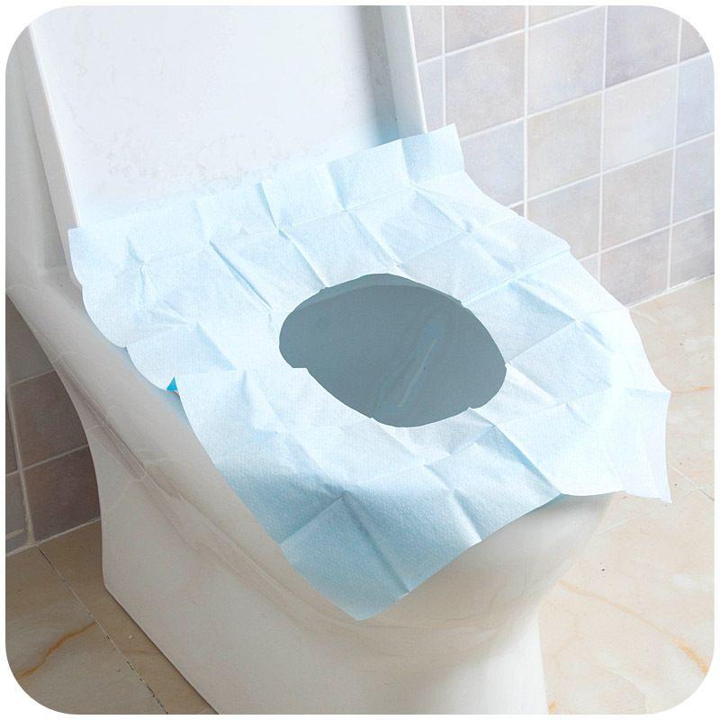 Vanzlife Disposable Toilet Mat Travel 100 Waterproof Bacteria