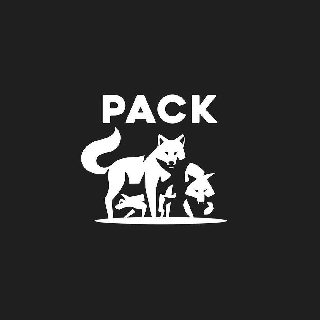 Wolf pack logo design - photo#34