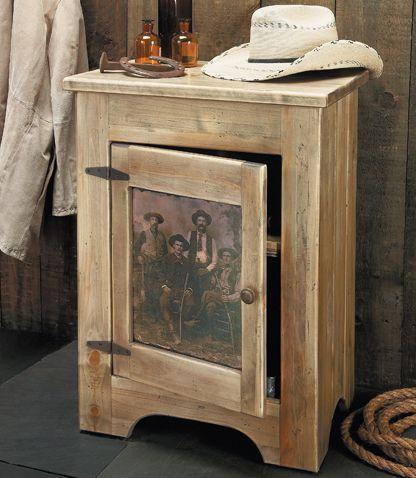 Western Furniture: Texas Rangers Nightstand|Lone Star Western Decor ...