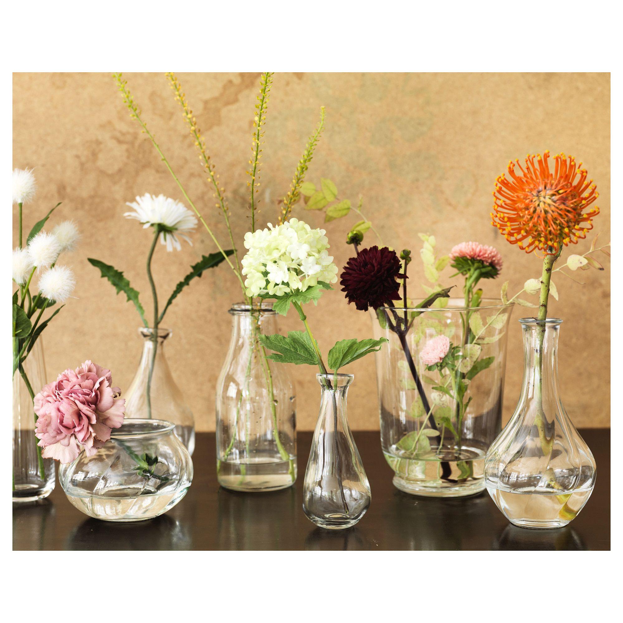 Ikea Viljestark Vase Clear Glass In 2019 Products Ikea Glass Vase Ikea Vases Wedding Vases