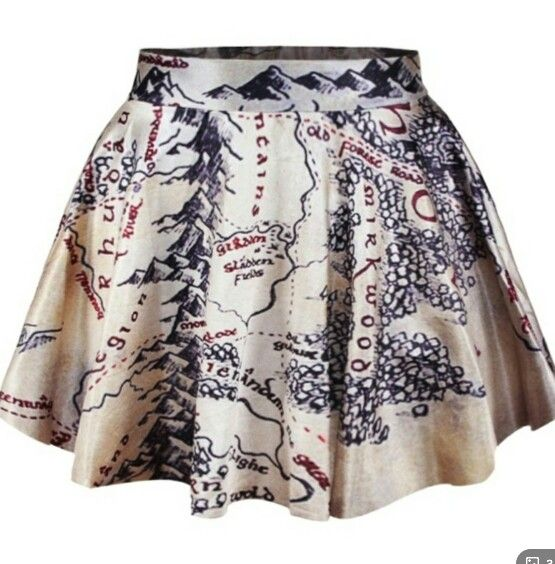 I have this lord of the rings skirt! <3