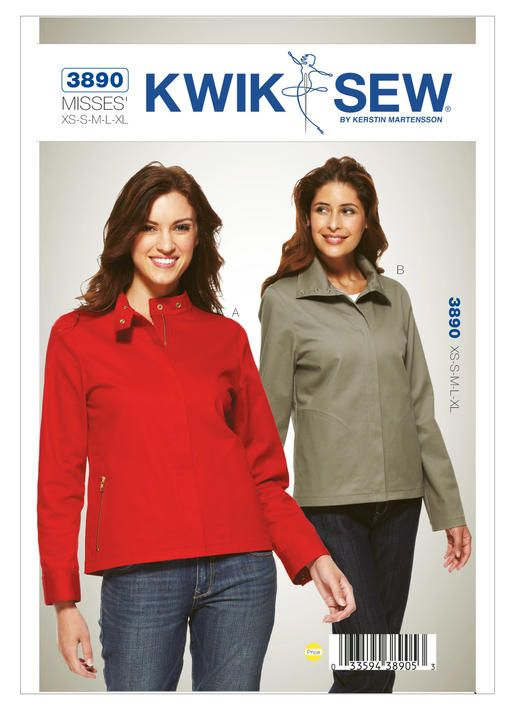 K3890 Kwik Sew Patterns Kwiks Sew Patterns Pinterest Kwik
