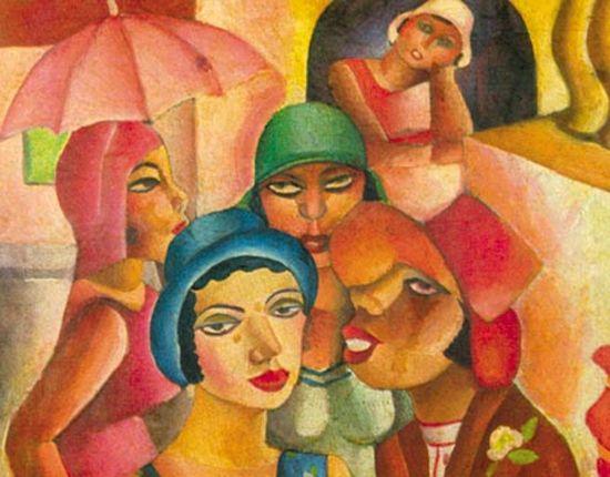 Cinco-moças-de-Guaratinguetá-Di-Cavalcanti.jpg (550×430)