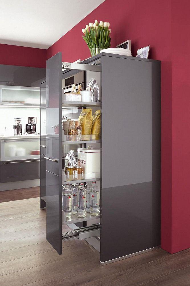 Hochschränke für die Küche u2013 flexibel nutzbarer Stauraum kitchen - korbauszüge für küchenschränke