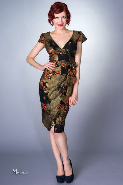 Asian print dresses pic 327